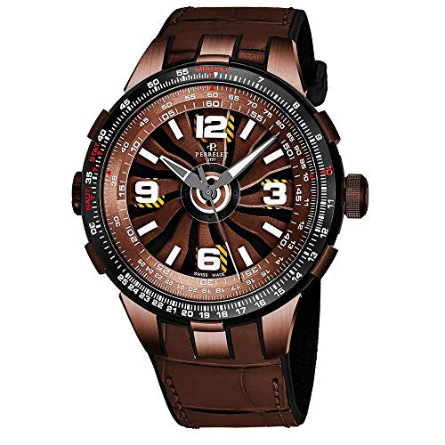 Perrelet Men's Case Quartz Analog Watch A1094-2