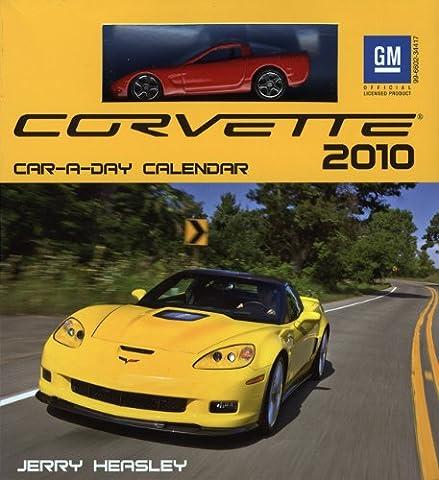 Corvette Car-a-Day 2010 Calendar