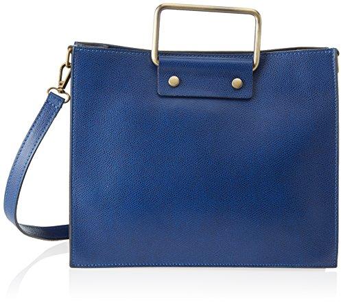 Chicca Borse 8806, Borsa a Spalla Donna, 28x23x13 cm (W x H x L) Blu (Blue)