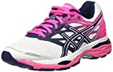 Asics Gel-Cumulus 18, Scarpe Sportive Outdoor Donna, (White/Indigo Blue/Hot Pink), 39 EU