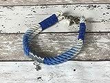 Tau-Halsband Größe 37-39cm Blau Ombre