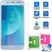 Protector de Pantalla en Cristal Templado Premium para Samsung Galaxy J5 2017 - Dureza 9H - Alta Definicion - 0,33mm - Ociodual24Horas