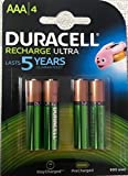 #10: Duracell Rechargeable Ultra Rechargeable Battery Type AAA 900 mAh, Pack of 4