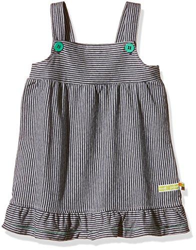 loud + proud Baby - Mädchen Kleid Ringel, Gr. 92 (Herstellergröße: 86/92), Blau (Midnight mi)