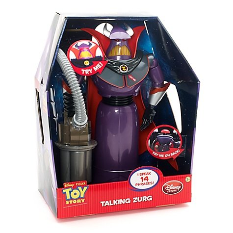 Disney Toy Story de 15 pulgadas Hablar Figura Zurg