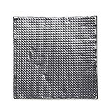 Hemobllo 3D-Drucker, wärmeisolierend, aus Baumwollschaum, hitzebeständig, isolierend, für 3D-Drucker – Schwarz (400 x 400 x 10 mm)