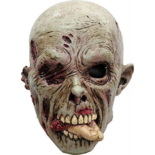 Máscara zombie devorador adulto Halloween - Única