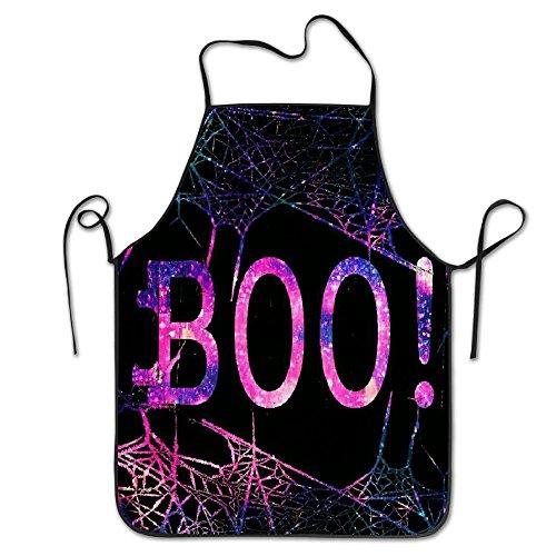 DRAUJY Boo Schürze, Unisex, Küchen-Lätzchen, mit verstellbarem Hals zum Kochen, Backen, Gartenarbeit, 71 x 53 cm