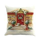 Riou Kissenbezuge Weihnachten Kissenhülle Dekokissen Throw Pillow Covers Bettwäsche Für Autos...