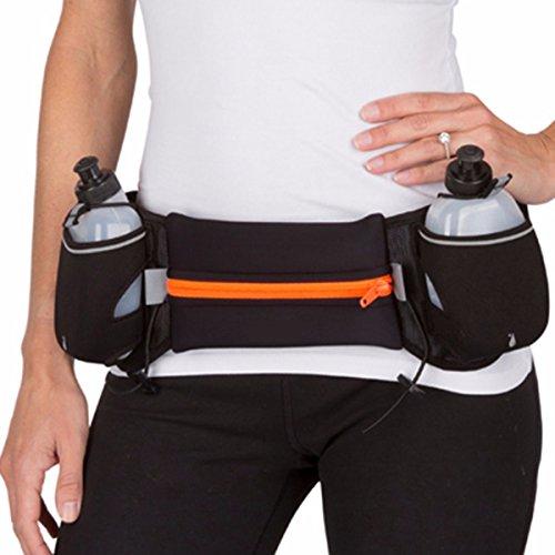 Multi - Funktions - Stealth - Gürtel, Wasserdichte Tasche, Hüfte, Portemonnaie, Handy - Tasche Reisen orange (ohne wasserflasche)