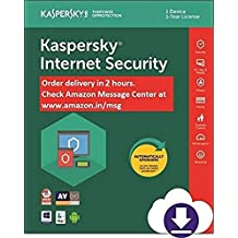 Kaspersky Internet Security 2020 Latest Version - 1 PC, 1 Year (Email Delivery in 2 hours - No CD)