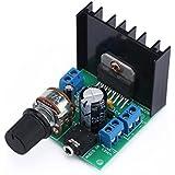 DROK® Mini Verstärker Powered Stereo Audio-Verstärker Amplifier Module 15W+15W Dual-Channel DIY AMP Board TDA7297F Electronic Amplifier Modula