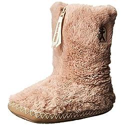 bedroom athletics women's marilyn boot - 51ypdNnSblL - Bedroom Athletics Women's Marilyn Faux Fur Slipper Boot