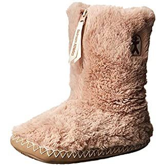 Bedroom Athletics Women's Marilyn Faux Fur Slipper Boots 21