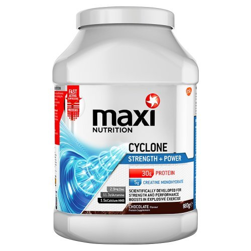 MaxiNutrition Cyclone Strength and Power Protein Shake Powder 980 g - Chocolate by GSK Consumer Healthcare