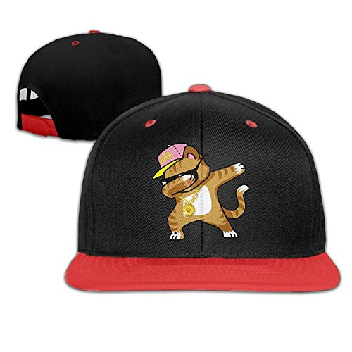 Hip Hop Dabbing Kitten Cat Snapback Hats Hip Hop Baseball Caps
