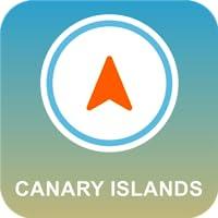 Kanarische Inseln Offline-GPS