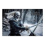 Póster Game of Thrones - 6ta. Temporada 'White Walker' (91,5cm x 61cm)