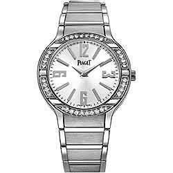Piaget Reloj de mujer cuarzo suizo 32mm correa de oro blanco G0A36231