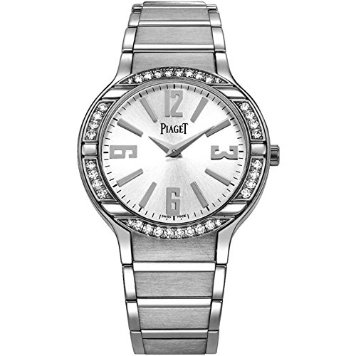 Piaget Women's 32mm White Gold Bracelet & Case Swiss Quartz Watch G0A36231