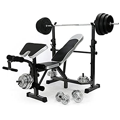 Generic * ining Ben leg extension raining Ben Chest Press Weight Weight Training Bench ch Chest Multi Gym Multi Gym Foldable adjustable e Multi Gym by Generic