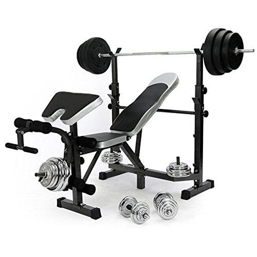 Generic * ining Ben Bein Verlängerung Raining Ben Brust Drücken Gewicht Gewicht Training Bench CH Brust Kraftstation Multi Gym Faltbar Verstellbar E Multi Gym