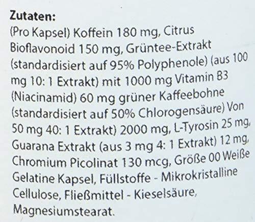 Lifood Swiss Grüner Tee Komplex, Mit 8 Zutaten, 60 Vegetarische Kapseln, 69 g