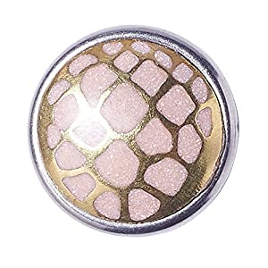 Noosa Petite Chunk HEAVEN AND SEA Turtle pink/ gold – brass/ powderstone