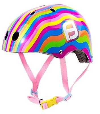 D 'Arpeje Outdoor Girl C D 'ARPEJE OFUN175°C Funbee Helmet Size S-Rainbow, S from DARPA #D'arpeje Outdoor