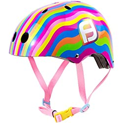Fun Bee OFUN175-C Casco, Unisex Niños, Multicolores, M
