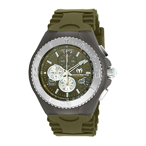 TECHNOMARINE CRUISE JELLYFISH HOMME 46MM VERT QUARTZ MONTRE TM-115115