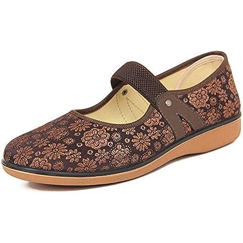 scarpe Ms./scarpe casual scivolare negli anziani/Traspirante con scarpe piane codice di calibro