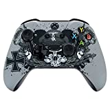 eXtremeRate Xbox One X/S Obere Case Hülle Schutzhülle Gehäuse Cover Oberschale Skin Housing Kit Shell für Xbox One S & Xbox One X Controller(Zweite Weltkrieg)