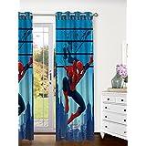 Marvel- Athom Trendz- Spider Man- Kids Curtain- Single Piece (Door)