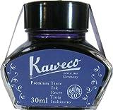 KAWECO Tintenglas 30ml Blauschwarz (Schreibtinte für Füllhalter)