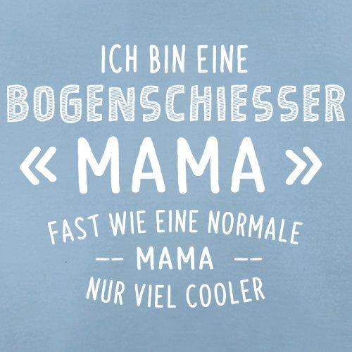 Ich bin eine Bogenschiesser Mama - Herren T-Shirt - 13 Farben Himmelblau