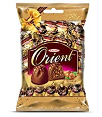 Tayas Orient Hazelnut Flavour Imported Chocolate - 800 gm (80 to 100 pcs Approx. - Shipping Free