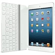 Logitech 920-005114 Ultrathin Keyboard Cover per iPad, Mini, Versione Italiana QWERTY, Bianco