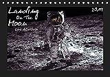 Landing On The Moon Like A Cartoon (Tischkalender 2019 DIN A5 quer): Die Mondlandung im Comic-Stil (Monatskalender, 14 Seiten ) (CALVENDO Wissenschaft)