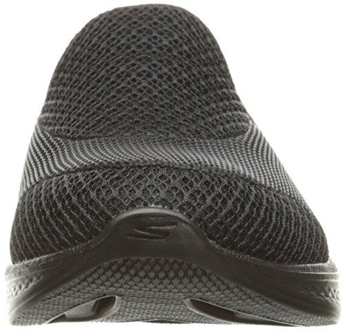 Skechers Go Walk 4 Propel, Baskets Basses Femme Noir (Bbk)