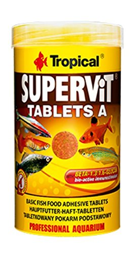 SUPERVIT TABLETS A 250ml/150g (340Tablets) Multi-ingredient adhesive tablets with beta-glucan for all type of Tropical… 1