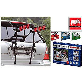 Rhino Automotive© 3 Bicycle Rear Mount Carrier Car Rack Bike Cycle RW0501 5