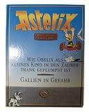 Asterix Sammlerausgabe Titel : wie Obelix als kleines Kind in den Zaubertrank Geplumpst ist/ Gallien in Gefahr (7)