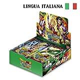 Bandai- Dragon Ball Super Card Game Miraculous Revival Box da 24 Buste in Italiano Sigillato, Colore Verde, dbs5