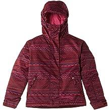 Billabong Snowjacke Sally - Chaqueta de esquí para niña, color rojo, talla UK: Size 14