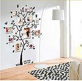Hlonl Habitación Marco De Fotos Decoración Árbol Genealógico Vinilos Decorativos Vinilos Decorativos Pegatinas En El Árbol Papel Tapiz Para Niños Arte Para Marcos De Fotos