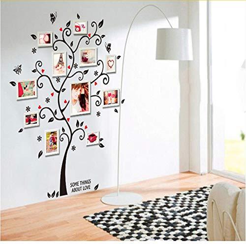 Hlonl Zimmer Fotorahmen Dekoration Stammbaum Wandtattoo Aufkleber Poster An Einer Wand Aufkleber Baumtapete Kinder Bilderrahmen Kunst