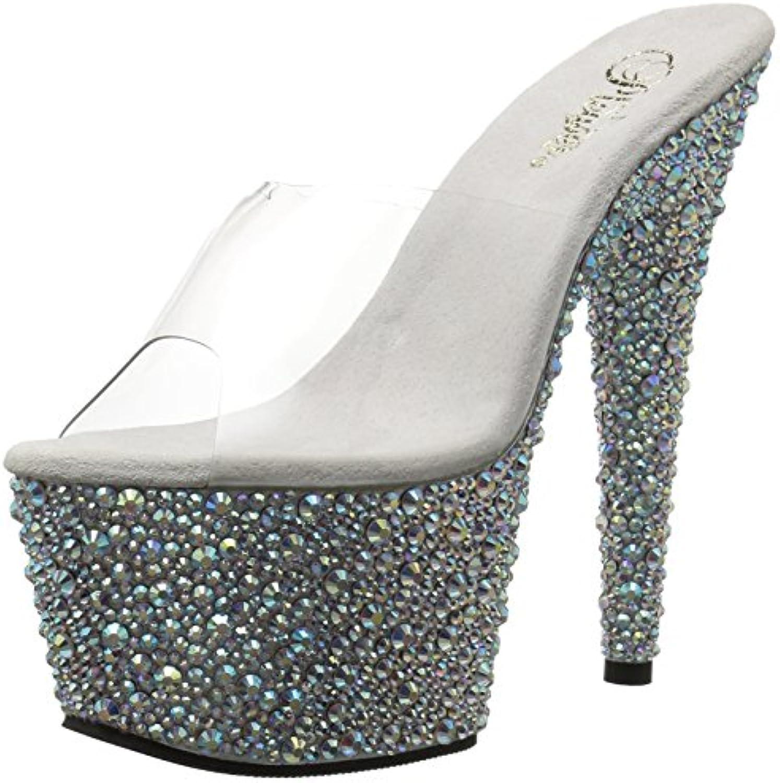 BEJEWELED - Chaussures Plateformes Strass (argent) - PLEASER (exotic (exotic (exotic dancing)B00IZSZX24Parent   De Qualité Constante  a4e1cc