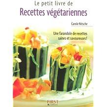 Petit livre de - Recettes végétariennes
