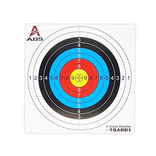 Zielscheibe Bogenschießen DMAR Zielscheiben Set 40X40 cm Zielscheibe softair Gun Ziele 30 Stück